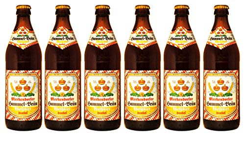Brauerei Hummel - Weißbier dunkel (6 Flaschen) I Bierpaket von Bierwohl