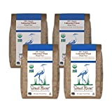 Great River Organic Milling, Bread Flour, Unbleached Wheat Flour, Stone-Ground, Organic 2 Pounds (Pack of 4)