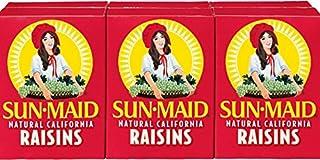 Sun Maid California Raisins 6 Boxes (pack of 6) - 1.33oz Boxes