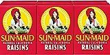 Sun Maid California Raisins 36 Boxes (12 x 3) 1.0oz Boxes