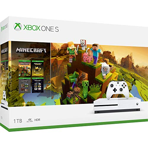 Consola Xbox One S, 1TB + Minecraft Holiday - Bundle Edition