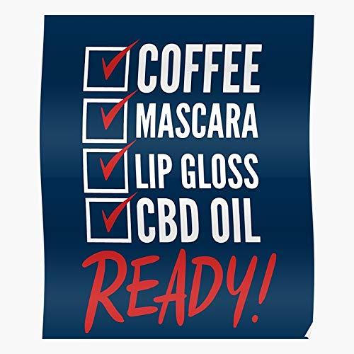 Mascara Lip Coffee Cbd Hemp Plant Ready...