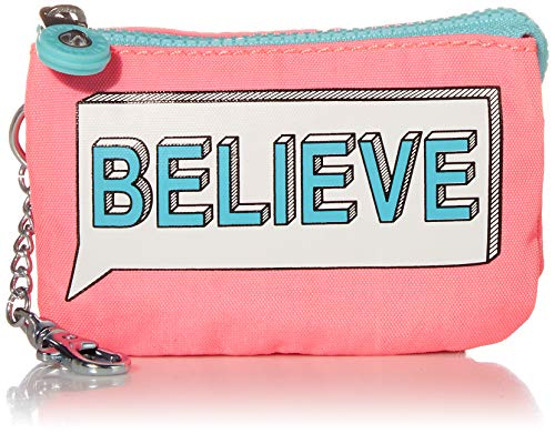 Kipling womens Mini Creativity Key Chain, believe, One Size