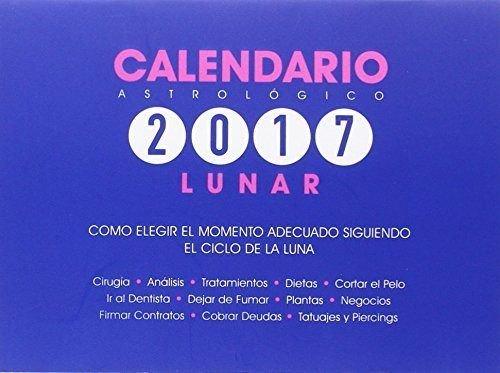 Calendario Astrológico Lunar 2017