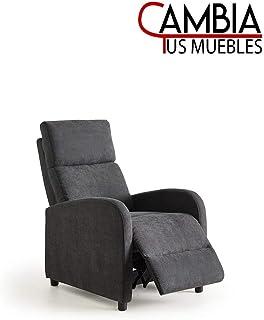 CAMBIA TUS MUEBLES - Nexus butaca Relax, sillón reclinable Manual Gris