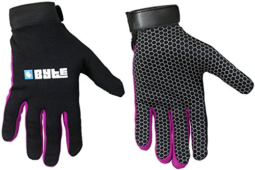 Byte Hockey-Handschuh, in Schwarz, Herren damen Kinder, violett, M