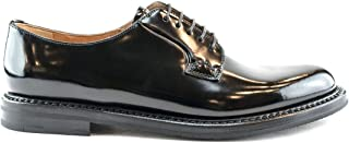 CHURCH'S Luxury Fashion Womens DE00099XVF0AAB Black Lace-Up Shoes | Fall Winter 19
