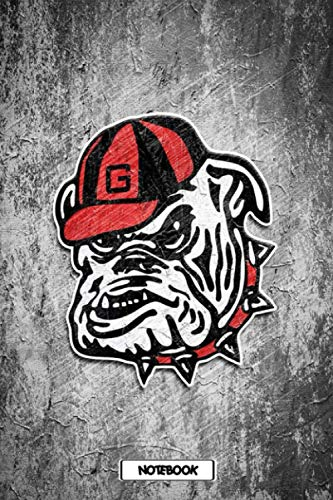NCAA Notebook : Georgia Bulldogs School Timetable Notebook Gift Ideas for Sport Fan , Home or Work #17