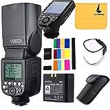 Godox V860II-S Ving 2.4G TTLリチウムイオンバッテリーカメラフラッシュスピードライト ソニーカメラ対応、Godox XPro-SワイヤレスフラッシュトリガーXシステム 高速対応の大きな液晶画面