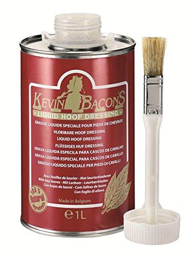 Kevin Bacons - Medicazione liquida per Zoccoli per Cavalli, in Latta da 500 ml con Pennello