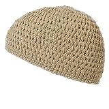 (カジュアルボックス)CasualBox 手編みナチュラルコットンイスラムワッチ キャップ ニット帽 (ベージュ) [ウェア&シューズ] メンズ レディース 帽子 Charm チャーム
