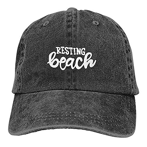 N \ A Gorra de béisbol con diseño de cara y gafas de sol para la playa, unisex, suave, ajustable, retro, gorras de béisbol