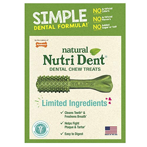 Nylabone Nutri Dent Simple Limited Ingredients...