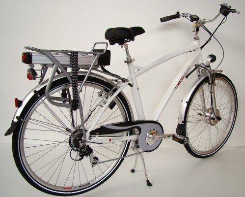 Germ anxia eléctrico de bicicleta de trekking de 7velocidades Shimano, 250W/11Ah
