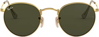 RB3447 Round Metal Sunglasses