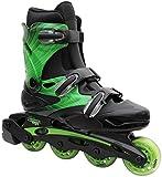 Linear Inline Roller Blade Skates, Green, Mens 12