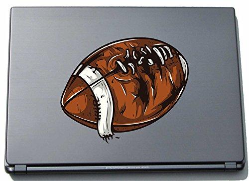 Preisvergleich Produktbild Laptopaufkleber Laptopskin Sport 117 - Rugby-Ball - 210 x 254 mm Aufkleber