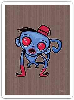 gordonstore Sticker Creature Animal Zombie Monkey Animals Fauna (3