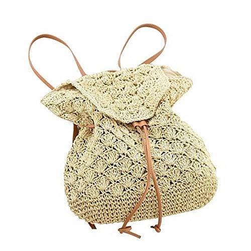 Verus - Bolso mochila para mujer Beige beige Talla única