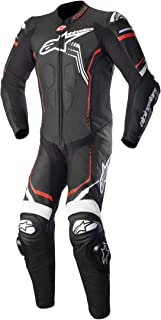 Alpinestars GP Plus V2 Motorcycle Leather Suit Black/White/Red  54/Euro 44/US
