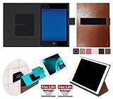 Hülle für Hewlett Packard Pro Slate 8 Tasche Cover Hülle Bumper | in Braun Leder | Testsieger