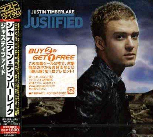 Justified by Justin Timberlake (2005-05-25)