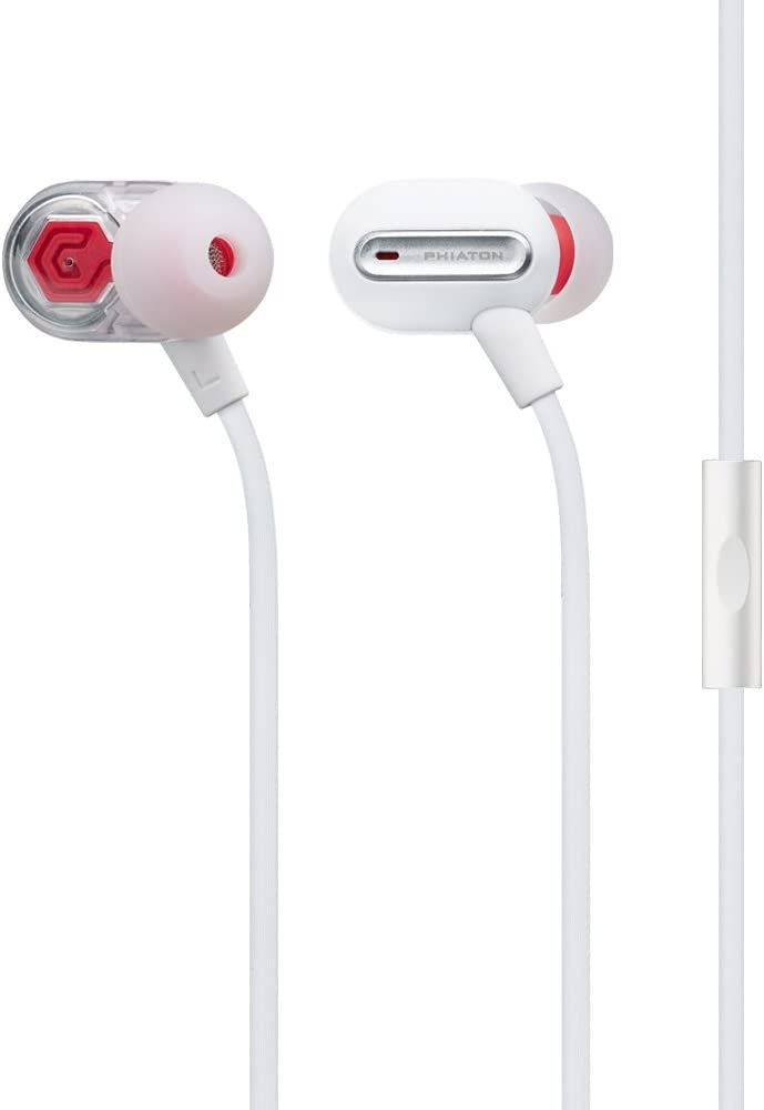 Phiaton MS Quality inspection 300 BA White Headphones and Mi Balanced Max 67% OFF with Armature