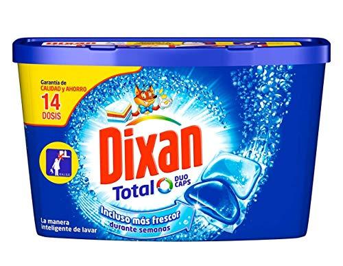 Dixan Duo Caps Total Detergente Ropa - 14 Cápsulas