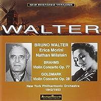 Brahms/Goldmark: Violin Concs