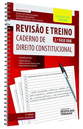Revisão e Treino Caderno de Direito Constitucional OAB. 2ª Fase