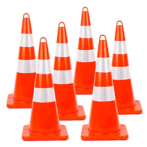 traffic cones reflective collars - 3