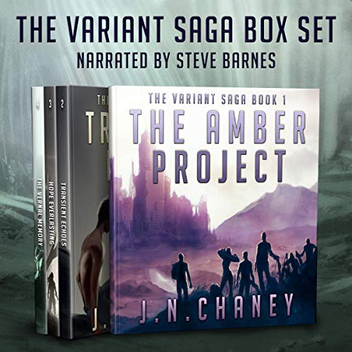 The Variant Saga audiobook cover art