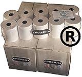 eposbits® marca rollos para Casio SE-G1SEG1se G1blanco rollos de caja registradora–40