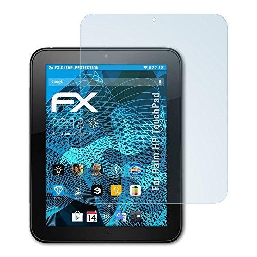 atFolix Schutzfolie kompatibel mit Palm HP TouchPad Folie, ultraklare FX Bildschirmschutzfolie (2X)