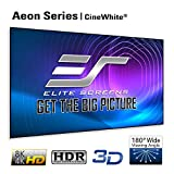 Elite Screens Aeon Series, 120-inch 16:9, 8K / 4K Ultra HD Home Theater Fixed Frame EDGE FREE Borderless Projector Screen, CineWhite Matte White Front Projection Screen, AR120WH2