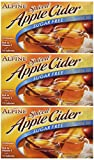 Alpine Pack of 3 Sugar Free, Apple Flavored Drink Mix Spiced Cider 1.4oz Box