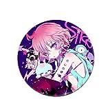 Mini Office Depot Anime japonés Mirai Nikki Broche Badge Set, Pin de botón de Dibujos Animados Accesorios para Ropa Sombrero Mochila Decoración(Style 16)