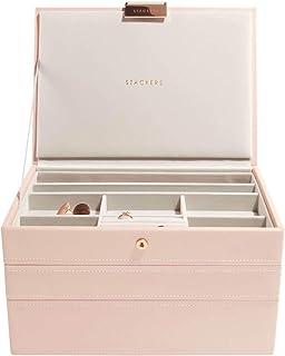 Stackers boîte à Bijoux Classique en Rose pâle