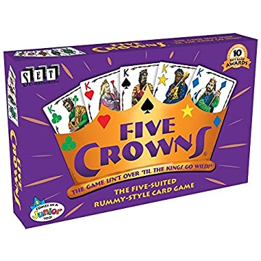SET Enterprises Five Crowns Card Game