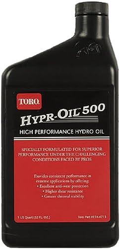 new arrival Toro 114-4713 online sale Hypr-Oil 500 outlet sale 1 Quart outlet online sale