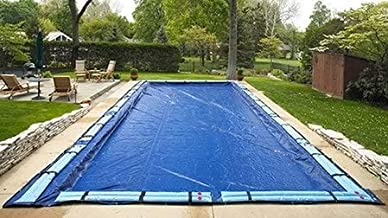 SWIMLINE SUPER DELUXE 35' x 50' Rectangle Winter Inground Swimming Pool Cover 15 Year Limited Warranty SD3550RC