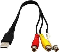 Suchergebnis Auf Für Usb Und Av Cinch Audio Video Kabel