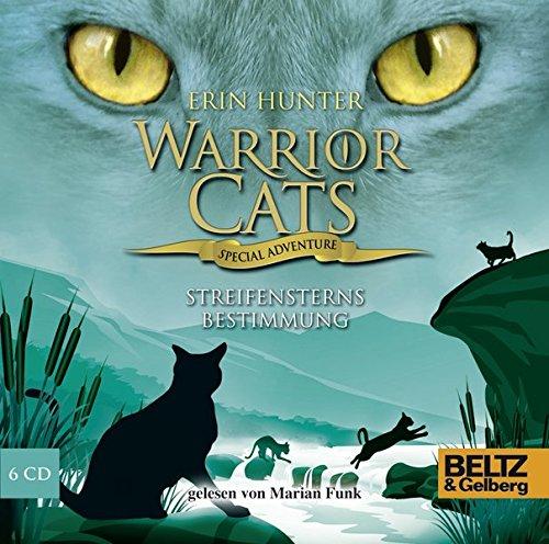 Warrior Cats - Special Adventure 4. Streifensterns Bestimmung: Gelesen von Marian Funk, 6 CDs in der Multibox, 8 Std. 41 Min.