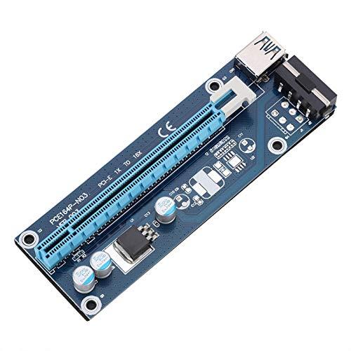 Socobeta Adaptateur de Carte de Montage de Haute qualité Adaptateur de Carte de Montage d extension Adaptateur de Carte Graphique USB 3.0 Adaptateur de Carte vidéo Haute Vitesse pour Bureau pour PC