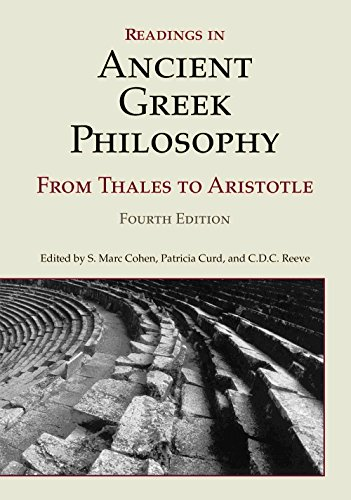 Readings in Ancient Greek Philosophy: From Thales to...