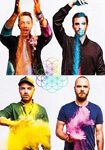 Generic Coldplay A Head Full of Dreams Foto Poster Beyonce Bluse Tour 2016 015 (A5-A4-A3) - A3