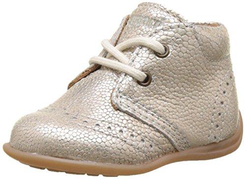 Bisgaard Jungen Mädchen Lauflernschuhe Sneaker, Silber (01 Silver), 21 EU