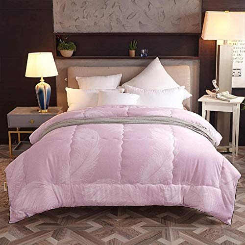 LLDKA From Microfiber Jacket Cotton Blankets For The Single or Double, Heat Of Replacement,Pink,150 * 200cm