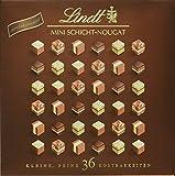 Lindt Mini Pralinés Schicht-Nougat  Pralinen-Schachtel, das ideale Schokoladengeschenk aus feinstem Nougat, 165g