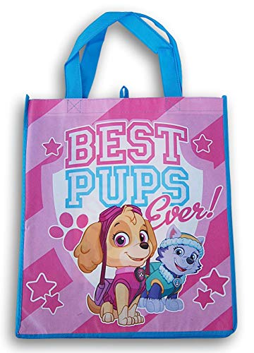 Pup Patrol ''Best Pups Ever'' Tote Bag - 13.5 x 15.5 Inch